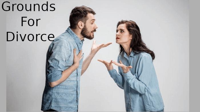 ground for divorce ground for divorce Ground for divorce and legal separation ground for divorce2